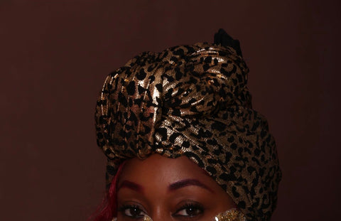 Golden Cheetah- Burkinabaé Headwrap
