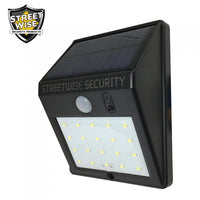solar motion detector light, home security, home invasion