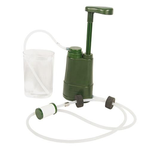 water filter pump, survival gear