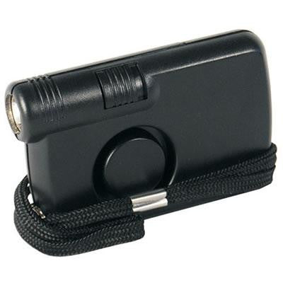 personal alarm, flashlight, self protection