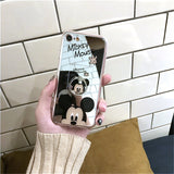 CCG Premium - Mirror Mickey/Minnie Case. Includes Ring. Carry A Cup And Your Phone At the Same Time