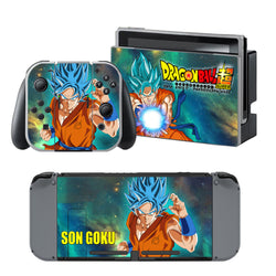 CCG Premium Nintendo Switch Skin- Anime Dragon Ball Z Super Goku