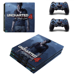 UNCHARTED 4 PS4 Pro SkinFor Sony Playstation 4 Pro