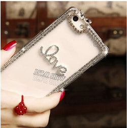 Luxury Bling Case For Iphone Rhinestone Phone Cover Case For Apple Iphone 6 plus 6s Plus 5.5""