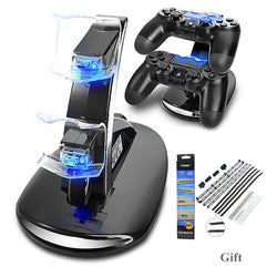 Dual Controller Charging Station For Sony PS4