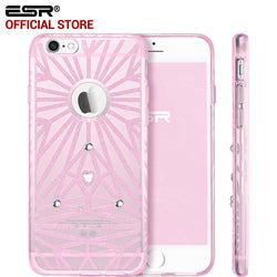 iPhone 6/6s Plus, Woman Fashion Soft Crystal Glitter Case