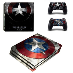 Super Hero Skins For PS4 Pro Console
