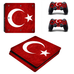 Turkey PS4 Slim Sticker Skin PS4 Slim Stickers + 2 Controller Skin Console Stickers PS4 Slim Protective Skin