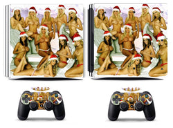 Santa ELFS  PS4 PRO Skin...Merry Christmas To You!!!