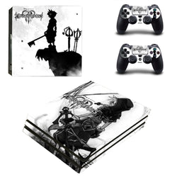 Kingdom Hearts PS4 Pro Skin For Sony Playstation 4 Pro Console&Controllers