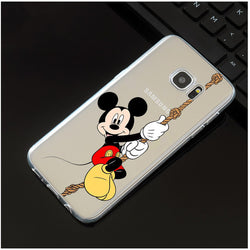 CCG Premium - Free Luxury Mickey / Minnie Protection Case For Your Samsung Galaxy Phone. Your Choice Of Characters