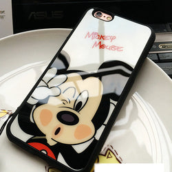 CCG Premium - Free Luxury Mickey/Minnie Soft Silicone For Multiple iPhone Models