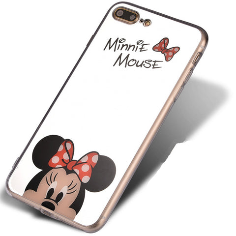 CCG Premium - Free Luxury Mickey/Minnie Case For Multiple iPhone Models