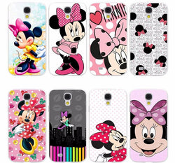 CCG Premium - Free Minnie Mouse Hard Transparent Scratch Proof Case For Your Galaxy Phone