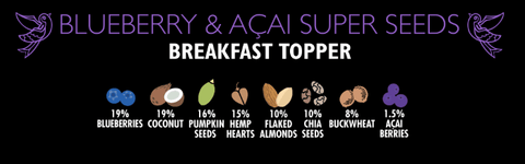 Blueberry & Acai Super Seeds Breakfast Toppers