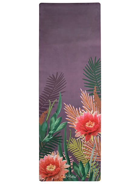 Tropicana Placement Orchid Yoga Mat by Willow Yoga