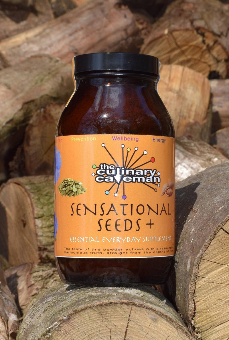 Sensational Seeds Plus Powder Food Supplement to Support General Health & Wellbeing & Omega3