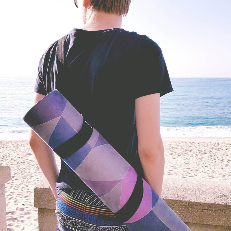 Abstract Alignment Premium Combo Yoga Mat