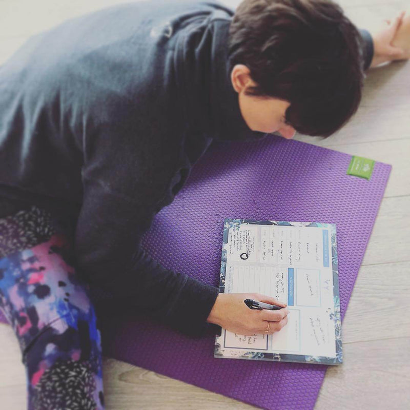 A4 Weekly Wellbeing Planner by Yummy Yoga Girl