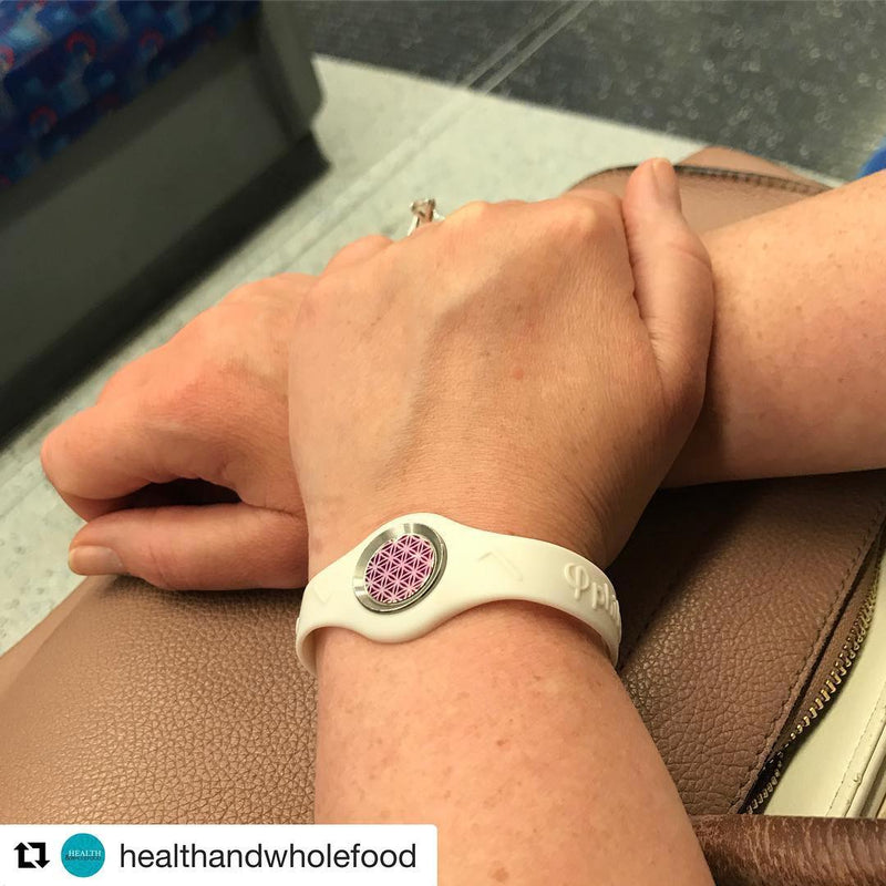 bioBAND + smartDOT - Removing Imprinting from EMF Radiation for Wearing on Wrists