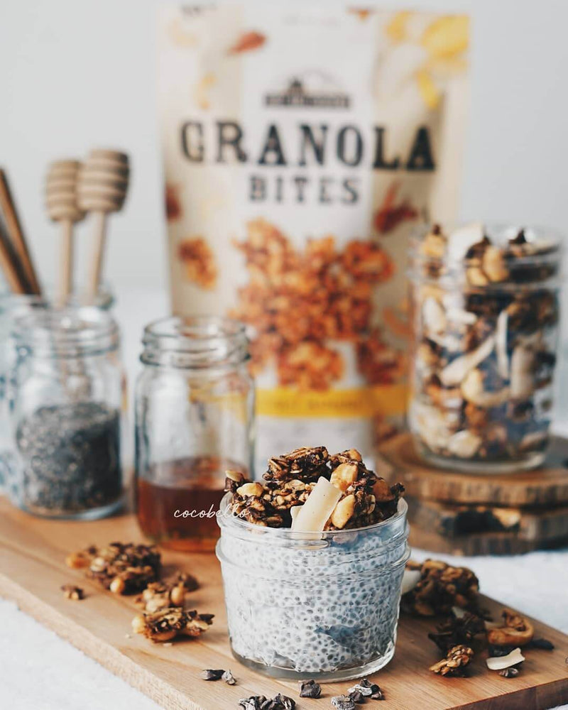 Granola Bites Coconut Banana Case Of 10 by East Bali Cashews