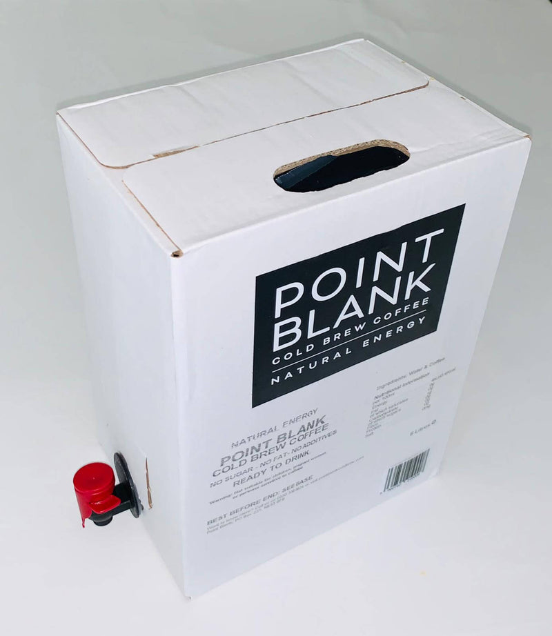 5L Fridge Pack of Cold Brew Coffee by Point Blank