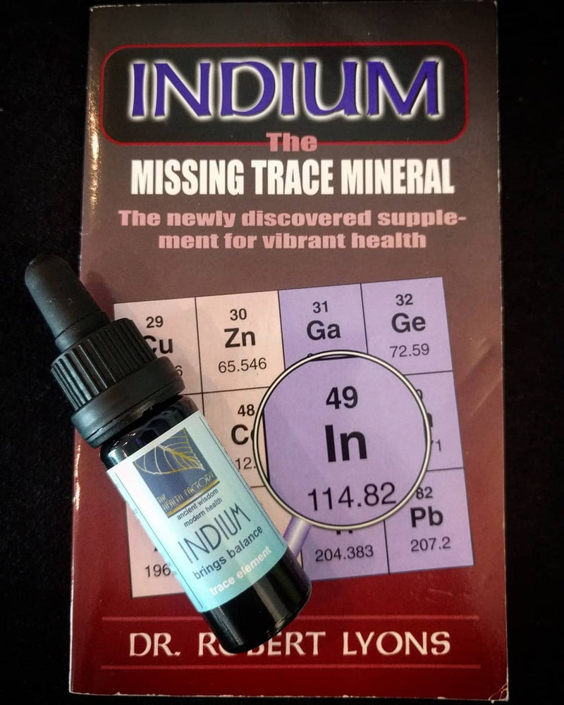 Indium Sulphate Liquid Drops - Essential Trace Element External Use
