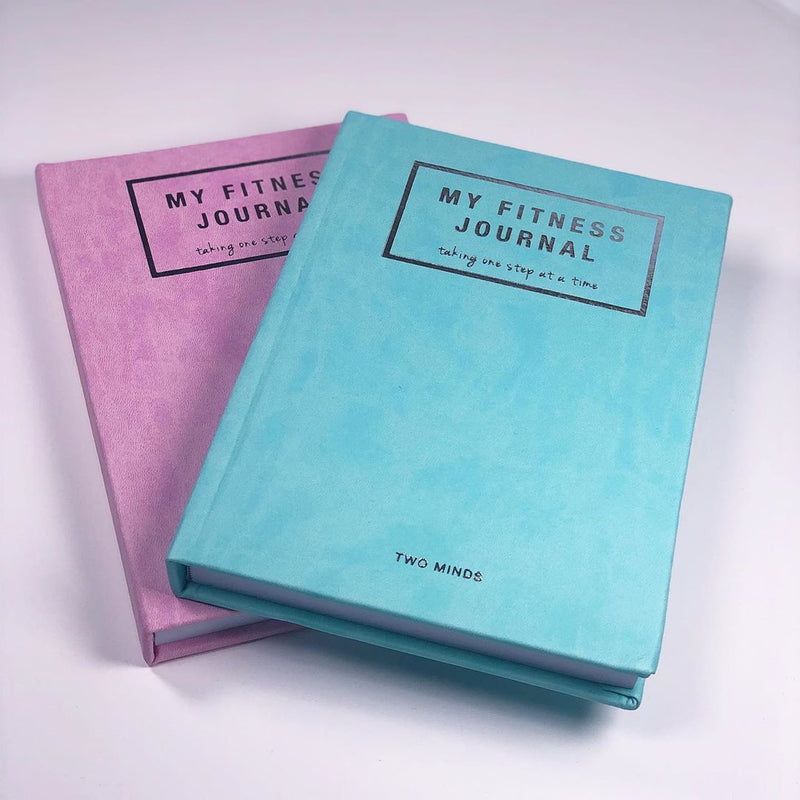 My Fitness Journal in Mint or Pink