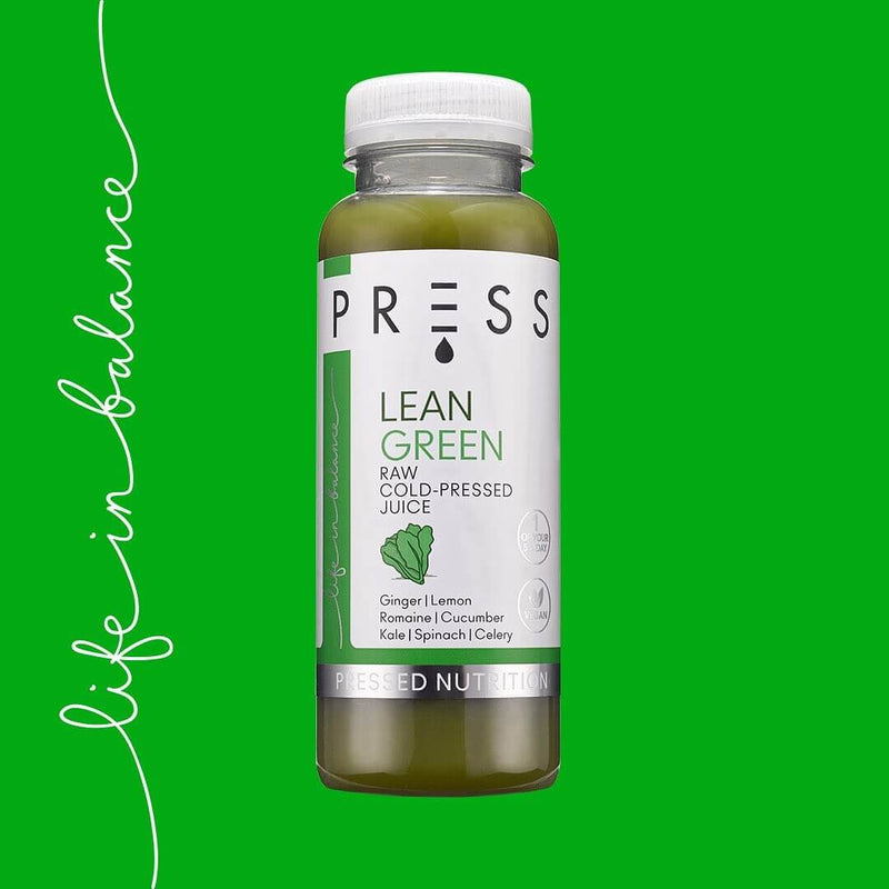 Fill Your Fridge - 8 Cleansing Cold-Pressed Juices and Waters or 1-day Juice Cleanse by PRESS Health Foods