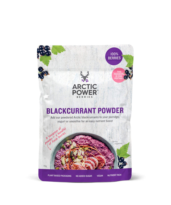 Pure Blackcurrant Powder 70g