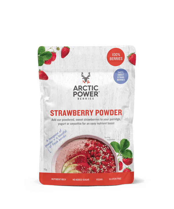 Pure Strawberry Powder 70g by Arctic Power Berries