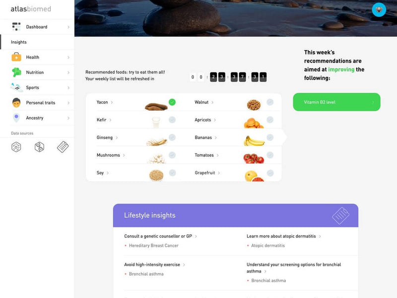 Microbiome Test Kit by ATLAS for Personalised Eating Plan Insights