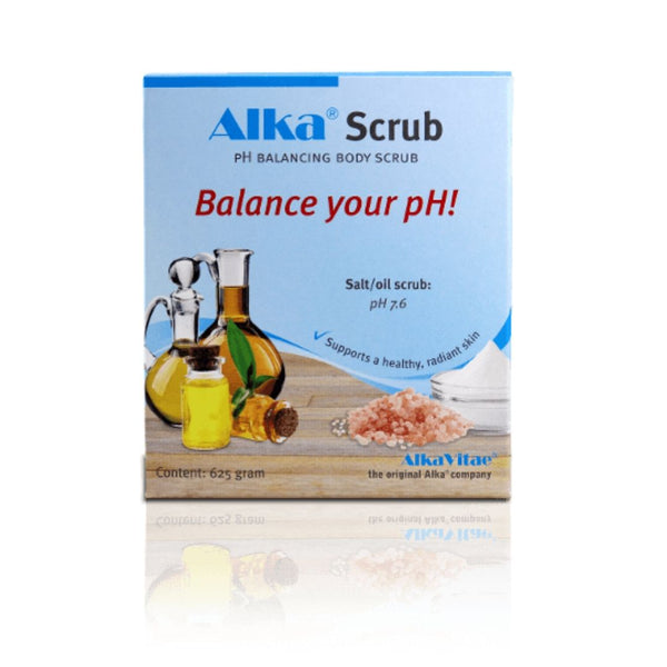 Alka® Scrub - pH Balancing Body Scrub to Support Alkalising Your Body and Condition The Skin
