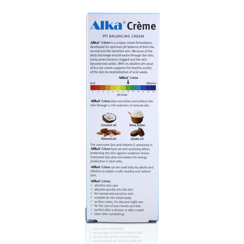 Alka® Crème - pH Balancing Body Cream to Support Alkalising Your Body and Healthy Skin