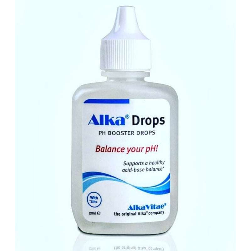 Alka® Drops - Alkaline Mineral Extract Add to Drinking Water to Support Increase in pH Value