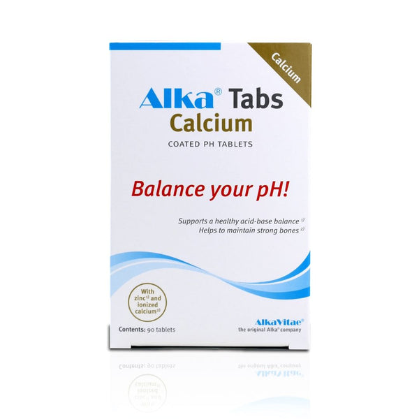 Alka® Tabs Calcium - 90 Tablet Supplements to Support Alkalising Your Body and Support Restoring Calcium for Strong Bones