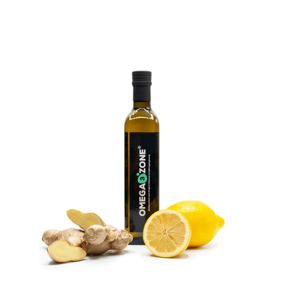 Lemon and Ginger 500ml Omega 3 Fish Oil