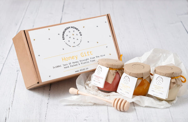 Raw Honey Gift Set of 3x 120g - Mix and Match , Honey - Life By Equipe