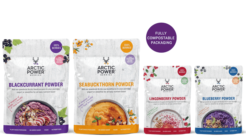 Energy Booster Bundle - Pure Berry Powders