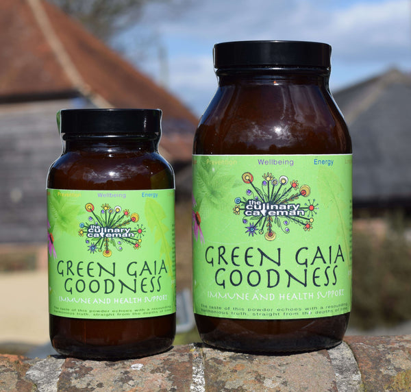 Green Gaia Goodness Powder Food Supplement to Support the Immune System & Support Balancing Hormone Production