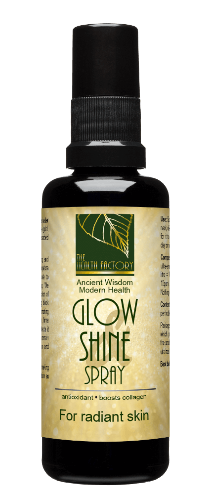 Glow and Shine Spray to Support Skincare - Nano Gold, Platinum & Zinc External Use
