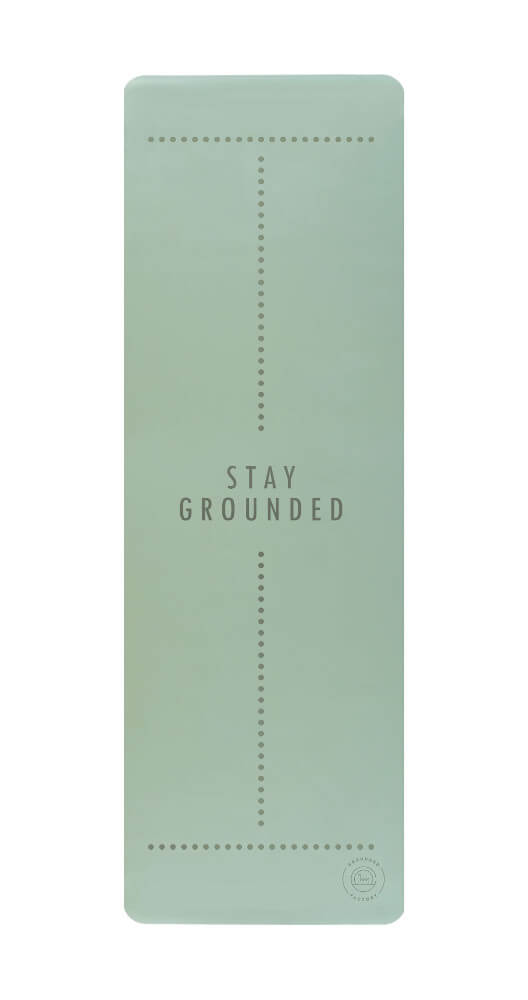 Stay Grounded Super Grip Yoga Mat in Mint- Grounded Factory