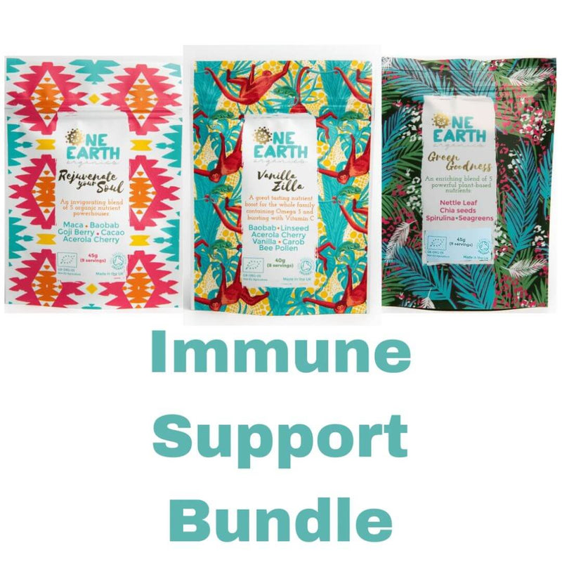 Immune Support Bundle Superfood Blends by One Earth Organics