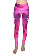 Lotus Extra Long High Waisted Eco Leggings by Yogacycled at Life By Equipe