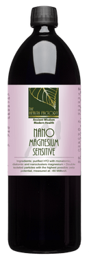 Nano Magnesium Sensitive Purified Mineral Water to Support Exercise Performance, Relaxation & Muscle Recovery Internal & External Use