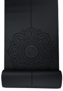 Black Moon Mandala Yoga Mat by Phantai Yoga