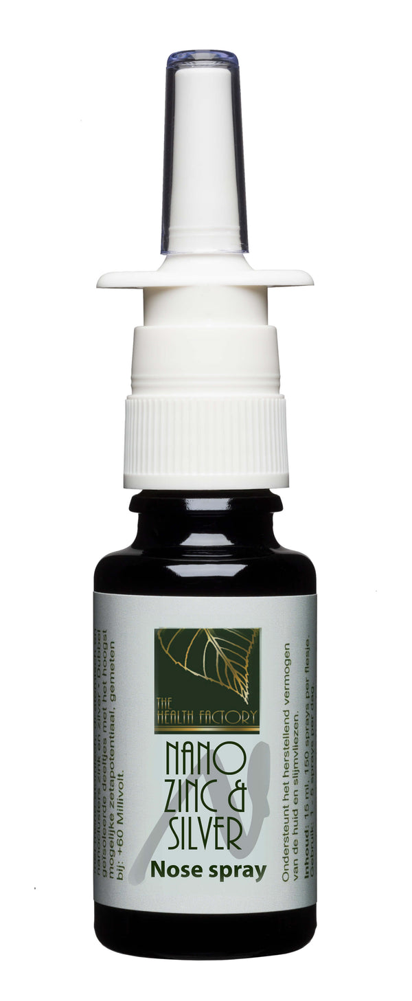 Nano Zinc & Silver Nasal Spray to Support Anti-Inflammatory Responces to Viruses & Anti-Histamine Use