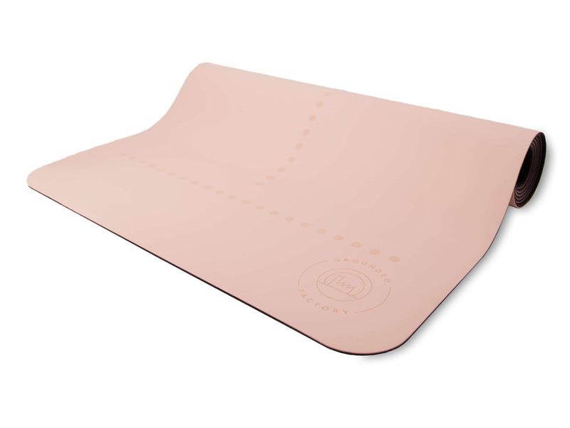 Stay Grounded Super Grip Yoga Mat in Pink - Grounded Factory