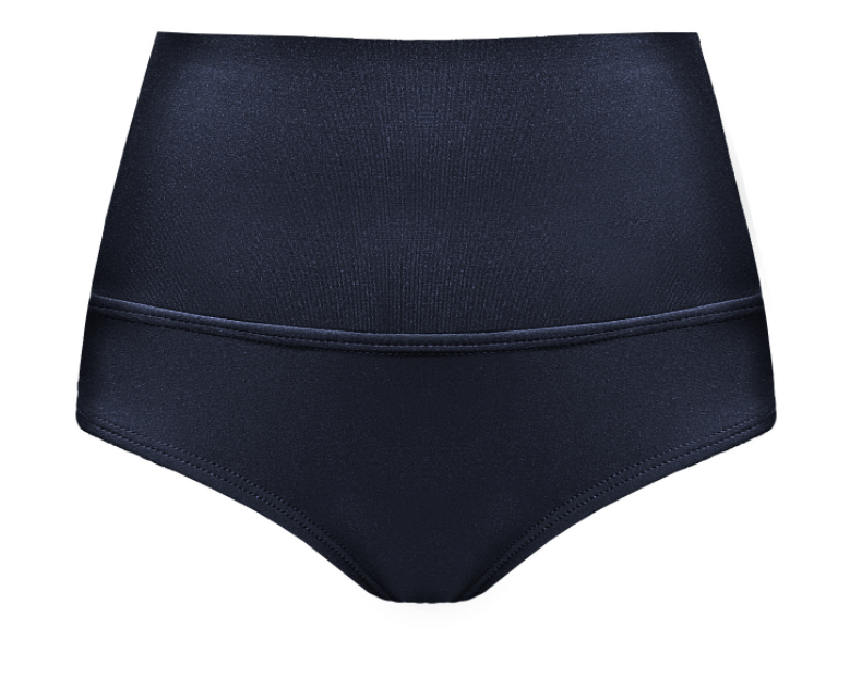 Polewear High Waist Shorts - Black Lycra 'Camila' by TANIT Ibiza