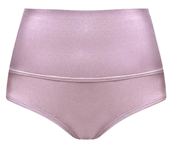 Polewear High Waist Shorts - Rose Gold 'Camila' by TANIT Ibiza
